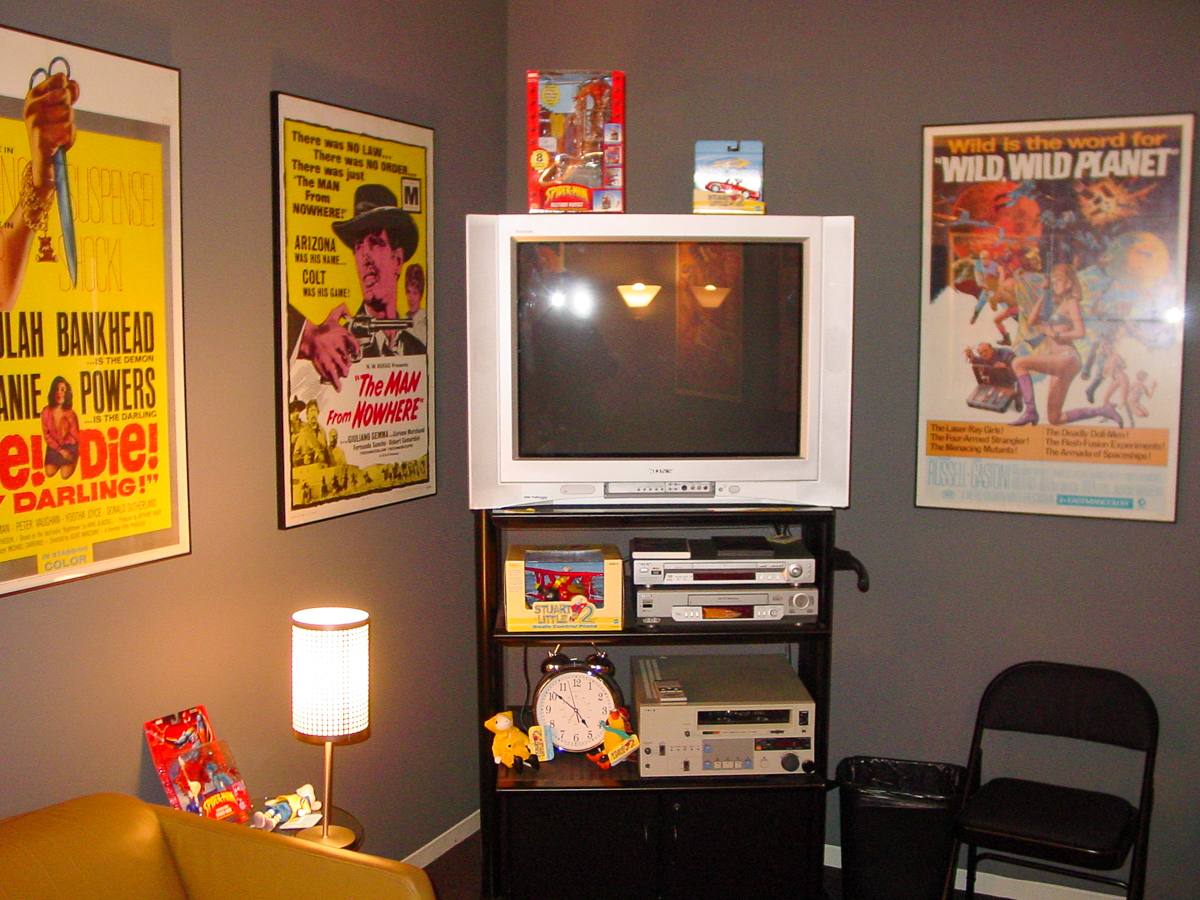 The Interview/Reel Review Room